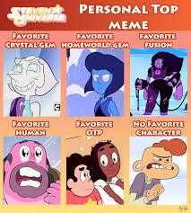 Steven Universe Memes - steven universe personal top meme by darckvireneko on deviantart