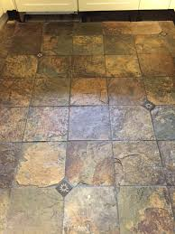 Slate Floor Tiles For Kitchen Removing Years Of Dirt From Slate Kitchen Tiles Stone Cleaning