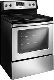 Clean Electric Cooktop Whirlpool 5 3 Cu Ft Self Cleaning Freestanding Electric Range