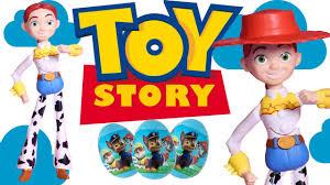 disney toy story jessie doll paw patrol surprise eggs