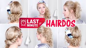 last minute prom party wedding hairstyles for medium long hair
