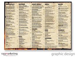 restaurants with light menus graphic designer northern beaches 20 yrs graphic design experience
