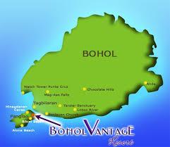 alona resort map hotel bohol vantage resort location
