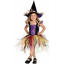 Halloween Costumes 11 Girls Amscan Kids Halloween Matched Witch Girls Fancy Dress