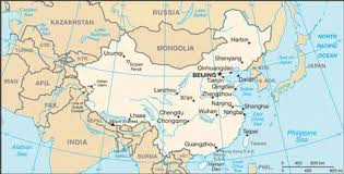 rivers in china map geographical map of china