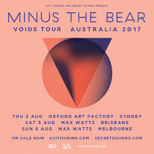 august australian dates onsale now u2014 minus the bear