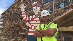 Things To Do In Hospital When Bored Construction Worker Hides Waldo On Site Everyday For Kids In