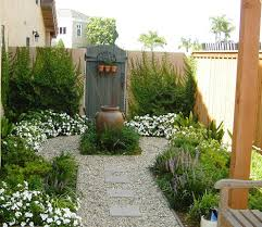 landscaping ideas for small yards for a contemporary patio with a