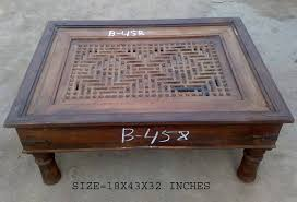 Jali Coffee Table Jali Coffee Tables