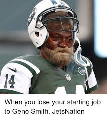 Geno Smith Meme - ets when you lose your starting job to geno smith jetsnation