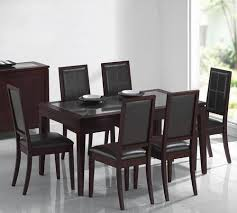 Espresso Dining Room Set by Acme Furniture Albury 7 Piece Dining Set W Espresso Dining Table