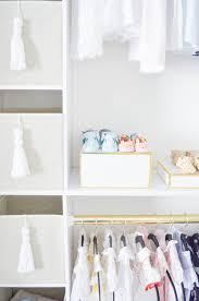 Nursery Closet How To Create A Glam Custom Nursery Closet On A Budget Project