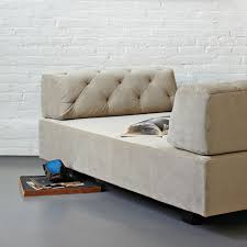 Beige Tufted Sofa by Tillary Tufted Sofa 74 5
