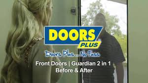 guardian glass doors front entrance guardian 2in1 security door before u0026 after