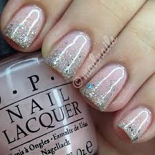 best 25 glitter french manicure ideas on pinterest french