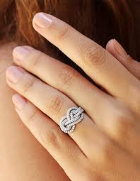 a knot ring valentines sale gold wedding band infinity knot ring