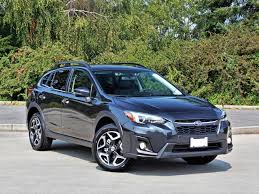 blue subaru crosstrek 2018 subaru crosstrek limited road test carcostcanada