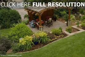cheap and easy backyard landscaping ideas large and beautiful