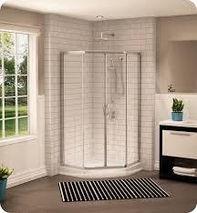 Neo Shower Door Fleurco Fan36 Signature 36 Neo Angle Sliding Shower Doors