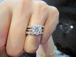 harry winston ring wear harry winston style e ring on your right or stacked on