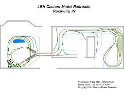 lbh custom model railroads layout design and construction services