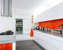 white glass front kitchen cabinets inside of cabinets painted