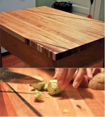 Old Becomes New With Coconut And Teak Tiles Made From by How To Clean And Care For Your Butcher Block