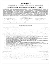 Sample Retail Management Resume by Sample Resume For Regional Sales Manager Resume For Your Job
