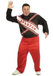 mens costumes mens plus size snl spartan costume will ferrell costumes