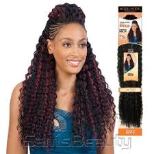 crochet braid hair modelmodel synthetic hair crochet braids glance bahama curl 20