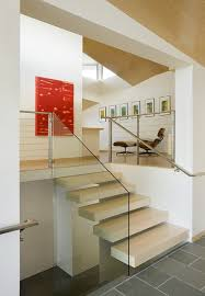 non slip stair treads staircase southwestern with chrome railings