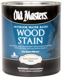 water based wood stain old masters