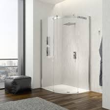 how to save space with these corner shower ideas
