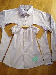 baby dress upcycled from s shirt diy alldaychic