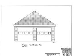 Garage Drawings Hip Roof Garage Plans Valine