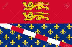 Flag Of Franc Flag Of Eure Is A Department In Normandy Is A Region In The North
