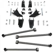 Triangulated Rear Suspension Four 4 Link Kit For 68 71 Ford