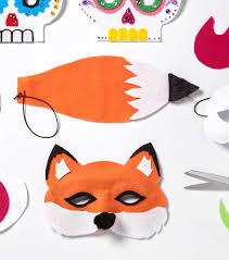Joanns Halloween Fabric Fox Mask Diy Halloween Costumes Joann