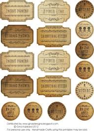 ginas designs freebie friday spooky labels