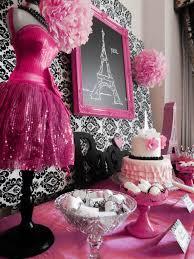 Paris Themed Party Supplies Decorations - paris party birthday party ideas paris theme birthdays and