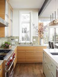 how high cabinet above sink a narrow window above the kitchen sink offers views of
