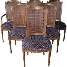 Henredon Dining Room Set by 6 Vintage Henredon French Regency Dining Room Chairs From