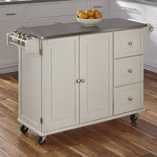 kitchen island stainless steel top andover mills kuhnhenn kitchen island with stainless steel top