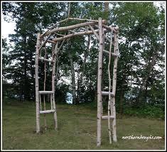 birch wedding arch arbor kit x large2 birch wedding rustic