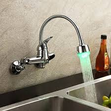 wall mount kitchen faucet with sprayer awesome wall mounted kitchen faucet with sprayer on interior