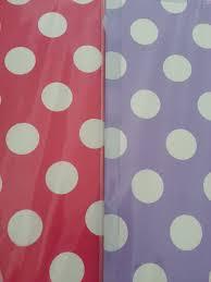 red white polka dot table covers light purple or magenta pink white polka dot plastic table