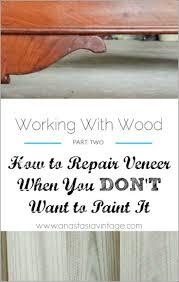 Painting Wood Furniture by Best 25 Painting Veneer Furniture Ideas On Pinterest Painting