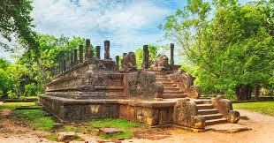 chambre du conseil la chambre du conseil polonnaruwa sri lanka panorama photo stock