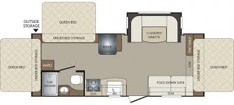 triple bunk travel trailer floor plans noble rv iowa and minnesota rv dealer mn ia rv sales