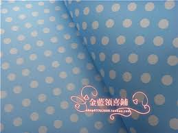 wholesale christmas wrapping paper gift wrap paper blue polka dot souvenir packing paper handmade